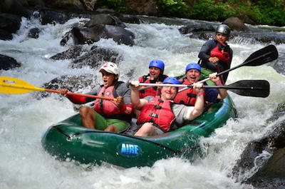 White Water Rafting in Tamarindo