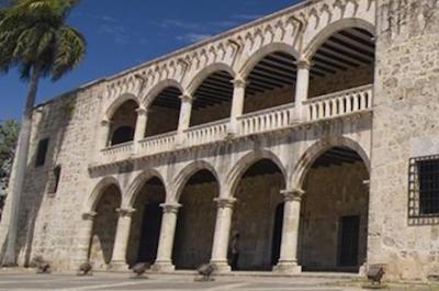 Alcázar de Colón (Columbus Palace) in Santo Domingo