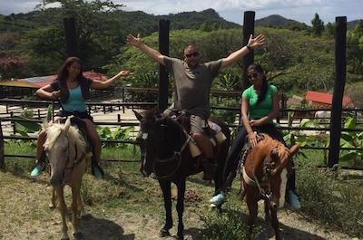 Amber Cove Excursion: Horseback Ride and Tropical Garden Tour