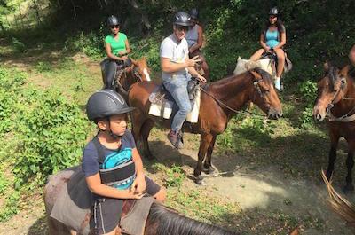 Amber Cove Excursion: Horseback Ride at Rancho Los Cacaos