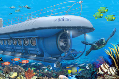 Atlantis Submarine Grand Cayman