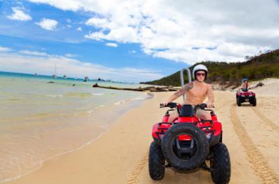 ATV Ride Tortola British Virgin Islands