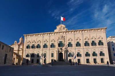 Auberge de Castille in Malta