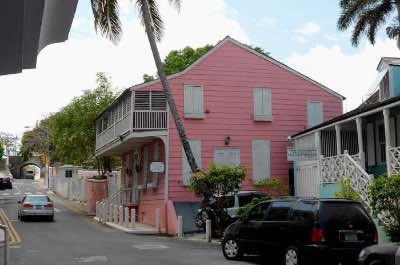 Balcony House Museum in Nassau