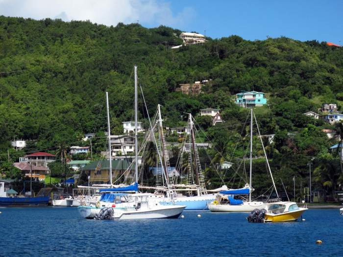Bequia island in St. Vincent and The Grenadines