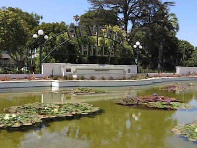 things to do in Beverly Hills - Beverly Gardens Park