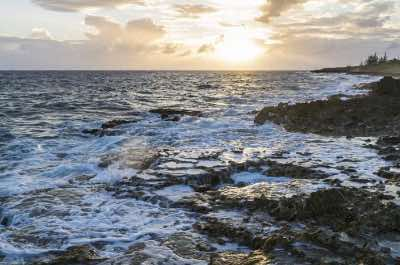 Blow Holes in Grand Cayman