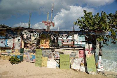 Bomba's Surfside Shack in Tortola