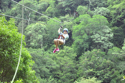 Borinquen Combo Horseback Riding and Canopy Tour in Guanacaste