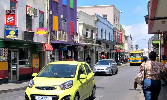 Bridgetown- Capital of Barbados