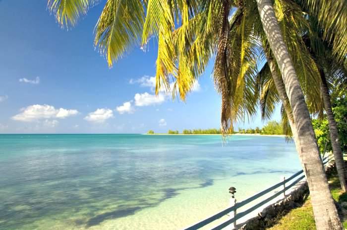 Anegada island in British Virgin Islands