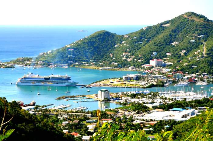Tortola in Britsh Virgin Islands