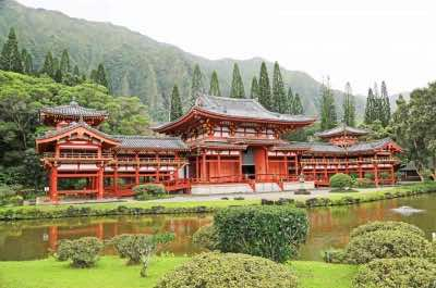 Byodo-In Temple in Oahu