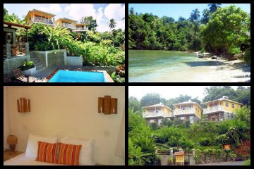 Calibishie Lodges in Dominica
