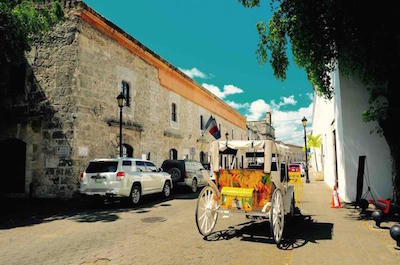 Calle de las Damas in Santo Domingo