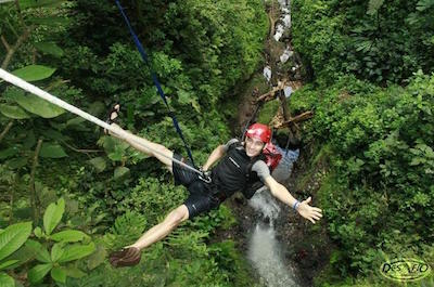 Canyoning and climbing tours in Arenal