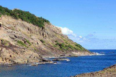Caravelle Peninsula in Martinique