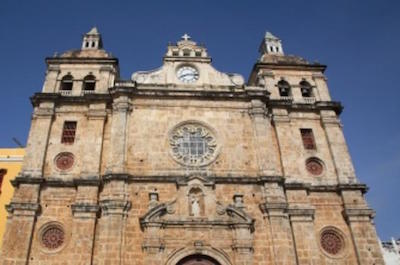 Cathedral of San Pedro Claver in Cartagena