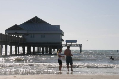 Clearwater Beach in Tampa