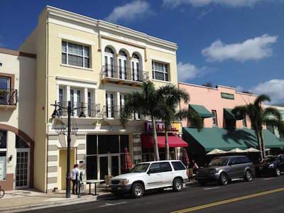 Clematis Street in West Palm Beach