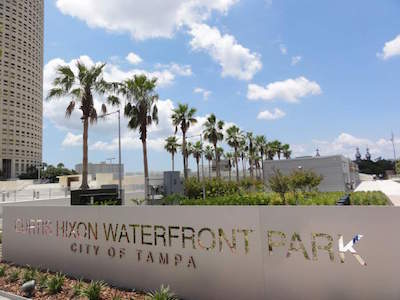 Curtis Hixon Waterfront Park in Tampa