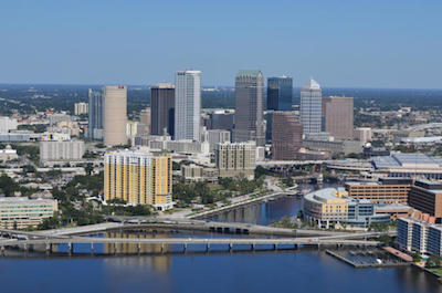 Downtown Tampa in Tampa