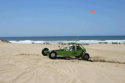 Dune Buggy in Santa Barbara
