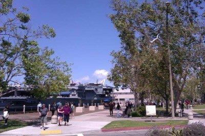 Embarcadero in San Diego