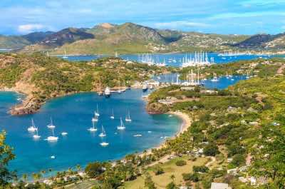 English Harbour in Antigua