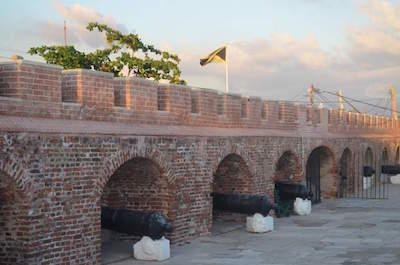Fort Charles in Kingston, Jamaica
