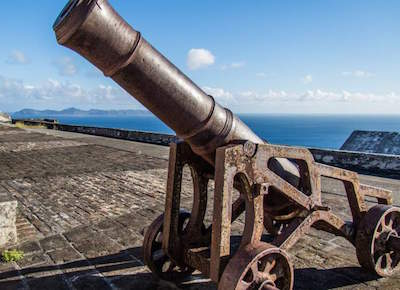 Fort Charlotte (Kingstown) in St. Vincent and The Grenadines