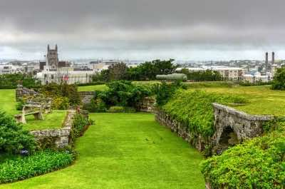 Fort Hamilton in Bermuda