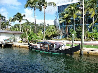 Fort Lauderdale gondola in Fort Lauderdale