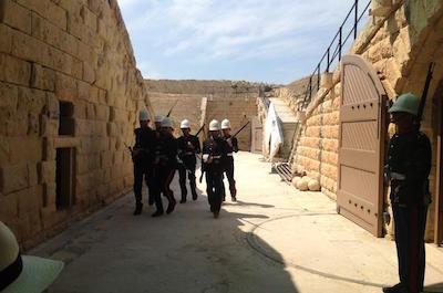 Fort Rinella in Malta