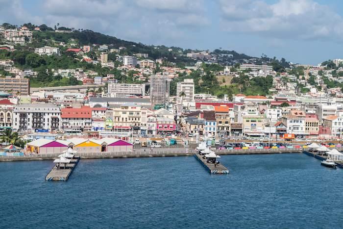 Forte de France, capital of Martinique