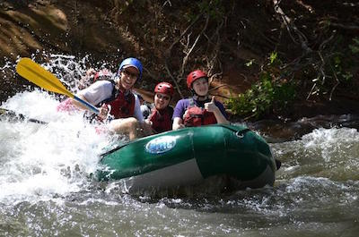 From Liberia White Water Rafting in Guanacaste