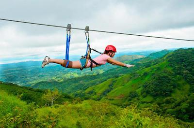 From Liberia Ziplines in Guanacaste