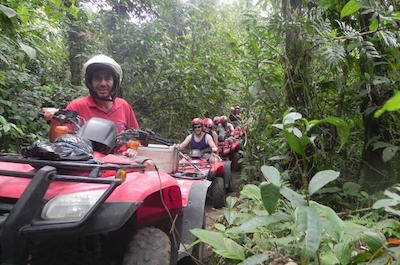 From Playa Hermosa ATV Tours in Guanacaste