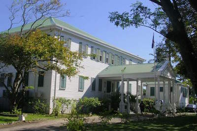 Government House in Belize City