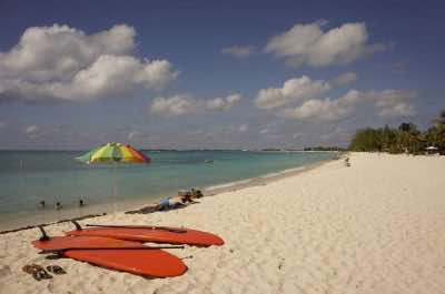 Governor's Beach in Grand Cayman
