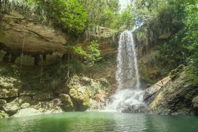 Gozalandia Falls