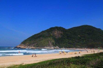 Grumari Beach in Rio de Janeiro