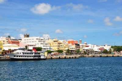 Hamilton -capital of Bermuda