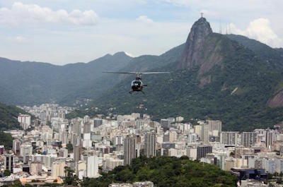 Helicopter and air tours in Rio De Janeiro