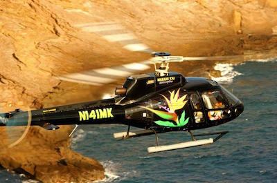 Helicopter Tour plus Dolphin Snorkel Adventure in Oahu