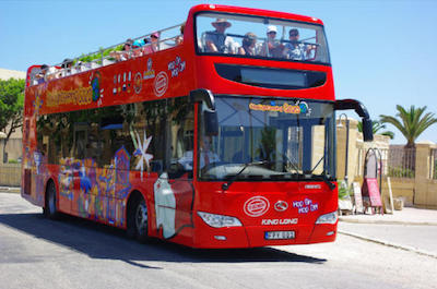 Hop-On Hop-Off Tours in Malta
