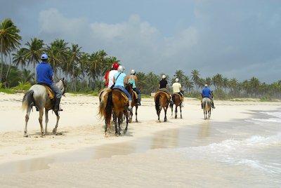 Horseback riding in Puerto Vallarta
