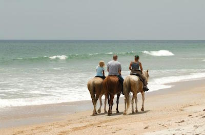 Horseback riding in Negril