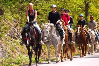 Horseback Riding in San Juan