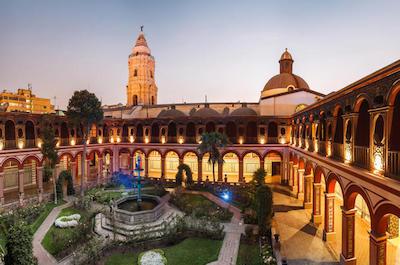 Iglesia de Santo Domingo in Lima